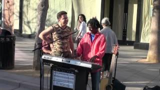 Andy-in-Africa - Niloofar - Promenade, Santa Monica اندی در افریقا - نیلوفر