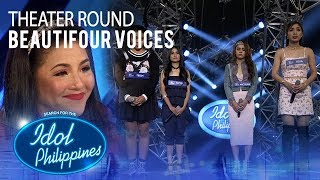 """Beautifour Voices sings """"It's All Coming Back To Me Now"""" at Theater Round   Idol Philippines 2019"""