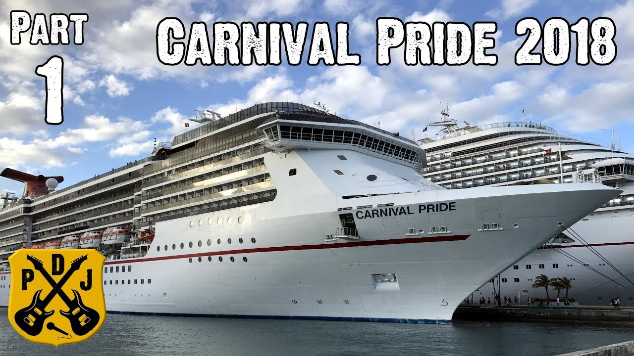 Carnival Pride Cruise Vlog Part Another Delayed - Cruise out of baltimore