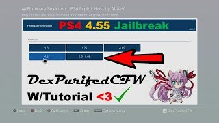 PS4 4.55 (Full Jailbreak) w/FAKE GAMES, Tutorial (EASY)