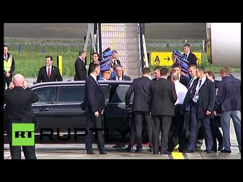 Serbia: Putin touches down in Belgrade for liberation parade