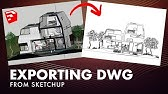 SketchUp DXF Export - YouTube