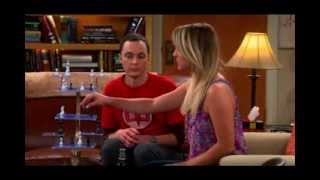 Penny and Sheldon called Leonard TBBT s7x1