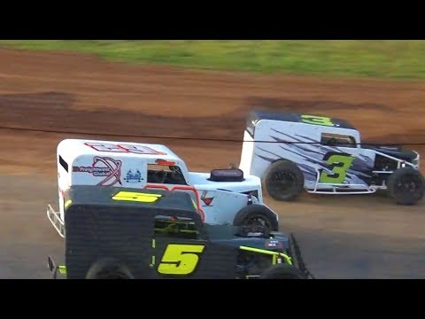 Dwarf Car B-Main @ River City Speedway 2019