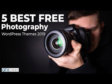 Free responsive photography wordpress themes