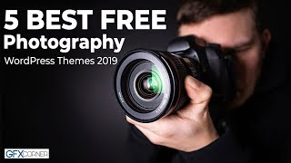 5 Best Free Photography WordPress Themes 2019