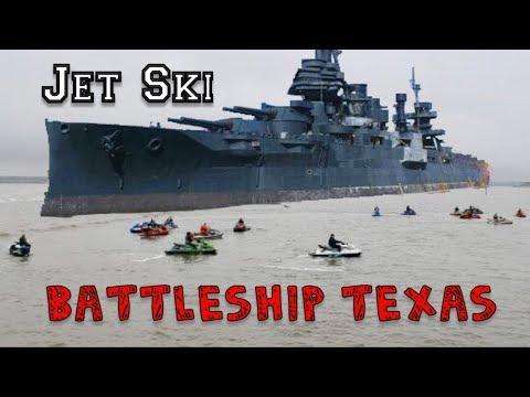 San Jacinto River To Battleship Texas  - XTREME JET SKIING
