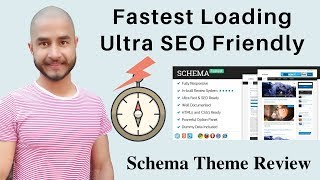 Schema Theme - Best fastest Loading, ultra-SEO friendly WordPress theme