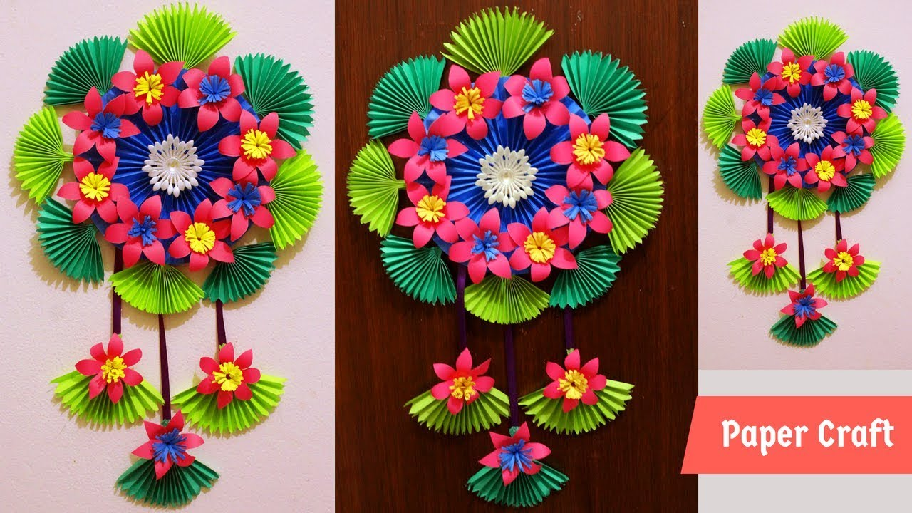 Diy how to make paper flowers make a paper flower wall hanging diy how to make paper flowers make a paper flower wall hanging paper flower wall decoration mightylinksfo