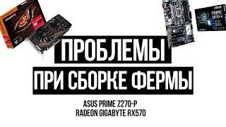 Проблемы при сборке фермы для майнинга на базе Asus Prime Z270-P и Radeon RX 570 Эдуард Затулывитер