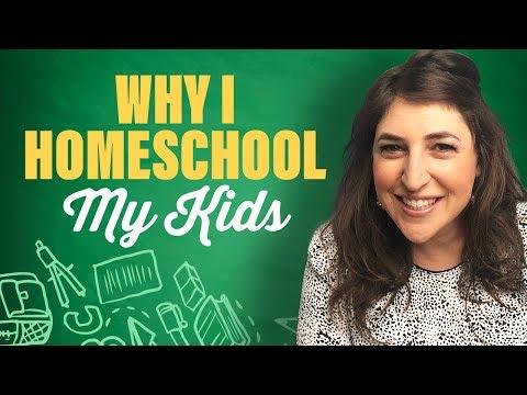 Why I Homeschool My Kids || Mayim Bialik