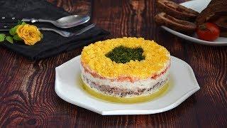 Салат «Мимоза» с тунцом