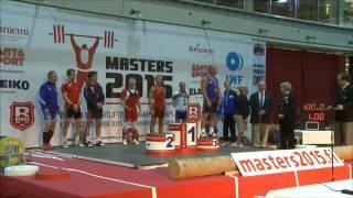 Чемпионат Мира по тяжелой атлетике среди ветеранов в Рованиеми Финляндия 2015