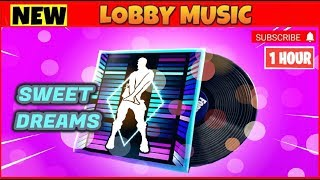FORTNITE SWEET DREAMS LOBBY MUSIQUE 1 HEURE ( Saison 10 Battle Pass Backround Music