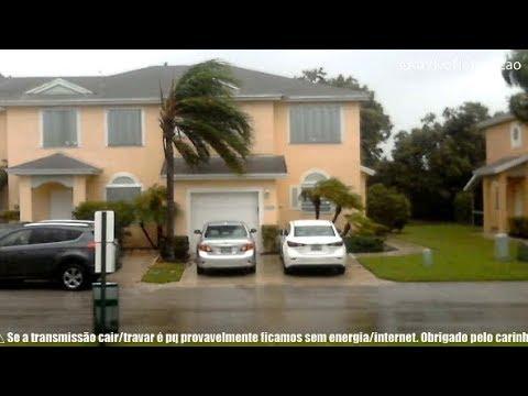 ⛔️AO VIVO NO FURACÃO IRMA   SUL DA FLORIDA ⛔️ LIVE HURRICANE IRMA   SOUTH FLORIDA