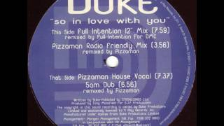 "Duke - So In Love With You (Full Intention 12"" Mix) 1997"