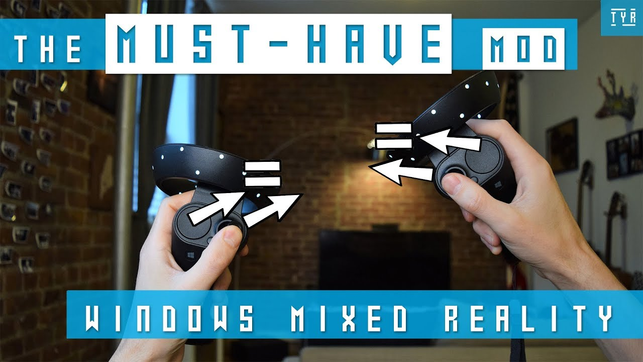 [HOW TO] ENABLE the THUMBSTICK in EVERY VR GAME - BEST MOD - WINDOWS MIXED  REALITY