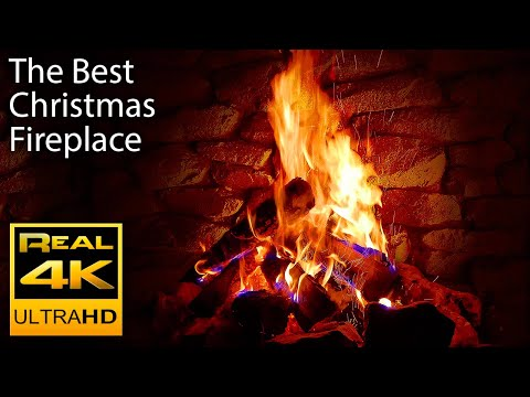 4K Relaxing Fireplace & The Best...