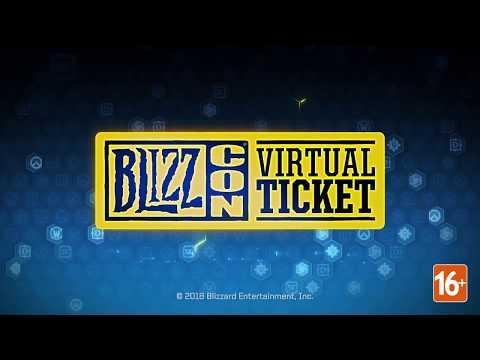 Внутриигровые подарки для Starcraft | Виртуальный билет BlizzCon 2018