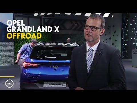 IAA 2017 | Opel Grandland X | Offroad-Angebot und Ausblick Allrad