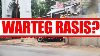 WARTEG RASIS - A social experiment on racial profiling at Indonesian food stalls