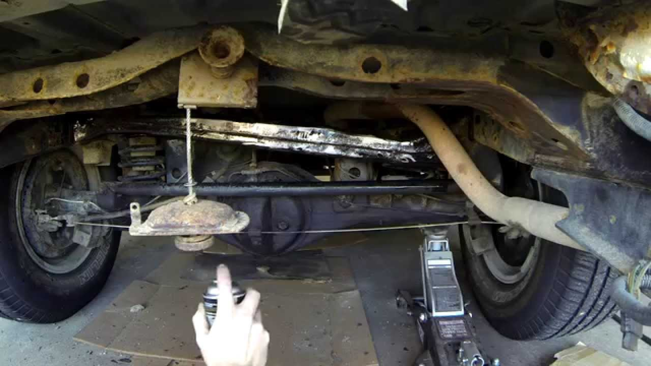 3rd Gen Toyota 4Runner Frame Rust Removal - YouTube