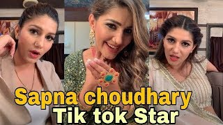 Sapna choudhary bani tik tok Star |Tik tok musically video