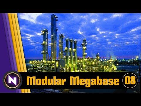 Factorio 016 Modular Megabase - E08 EXPANSION EAST