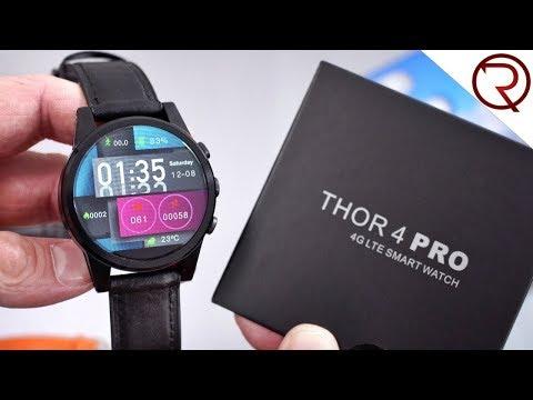 Zeblaze Thor 4 Pro 4G Smartwatch Unboxing & Hands-On