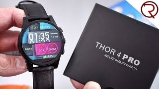 Zeblaze Thor 4 Pro 4G Smartwatch Unboxing & Hands-On