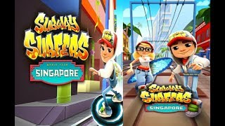 SUBWAY SURFERS WORLD TOUR 2017 - SINGAPORE  FHD GamePlay  - Update
