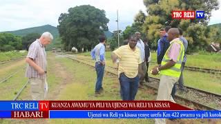 Full Video Ujenzi wa Reli ya Kisasa SGR Awamu ya pili kutoka Morogoro hadi Makutupora Dodoma