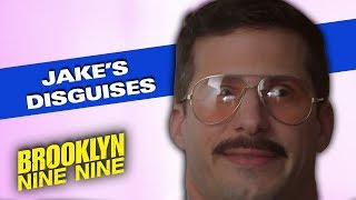 Jake's Disguises & Accents | Brooklyn Nine-Nine