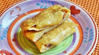Быстрый завтрак из яиц,  сыра и ветчины  Обращение к подписчикам
