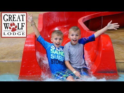 Great Wolf Lodge Indoor Waterpark Playground