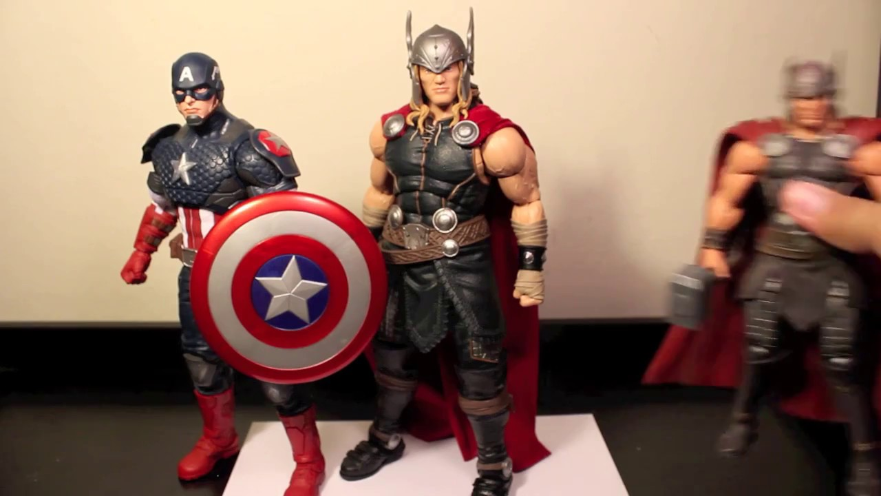 12-Inch . Marvel The Avengers Legends Series Captain America