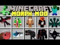 Minecraft SHAPE SHIFTER MOD l MORPH INTO ANY YOUTUBER AND BOSS! l Modded Mini-Game
