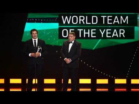 New Zealand wins 'Team of the Year' at the Laureus World Sports Awards