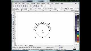 Fit text to path technique,Tutorial Corel Draw, Tips and Trick, Mastering Corel Draw