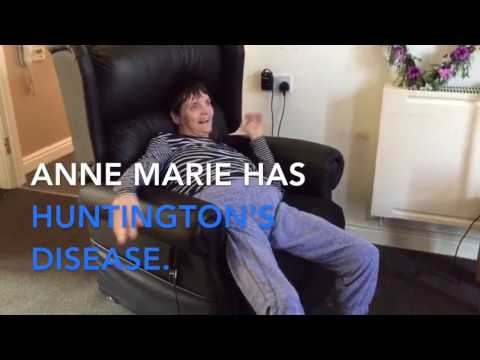 Anne Marie Has Huntington's Now Safe And Comfortable In Her Atlanta Chair