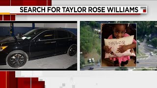 Search continues for Taylor Rose Williams