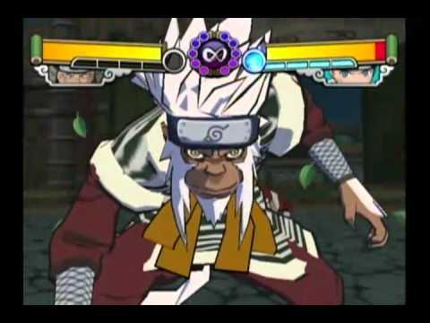 Naruto Gekitou Ninja Taisen 4 all specials