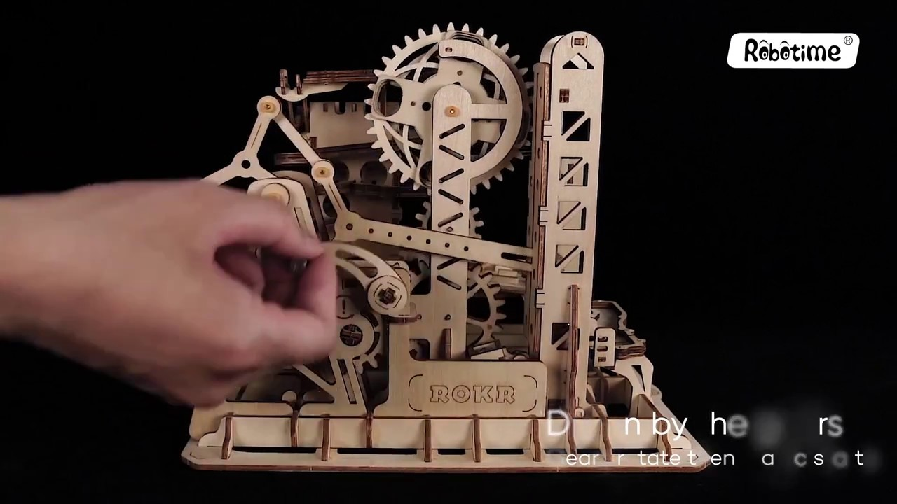 Magic Crush Marble Run Model Building Kits Tower Coaster Lg504
