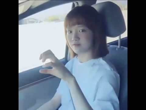 Lee Sung Kyung Sing a Song in her car