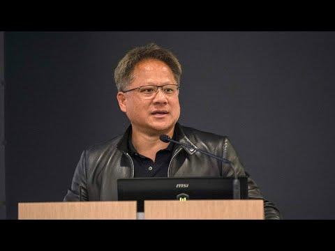 NVIDIA CEO Jensen Huang - AI Keynote Session At MSOE