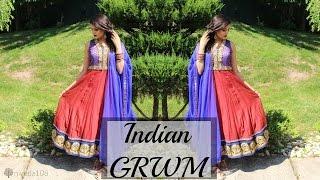 Indian / Tamil / Desi GRWM | Hair & Makeup for Party, Wedding, Reception, EID, Makeup