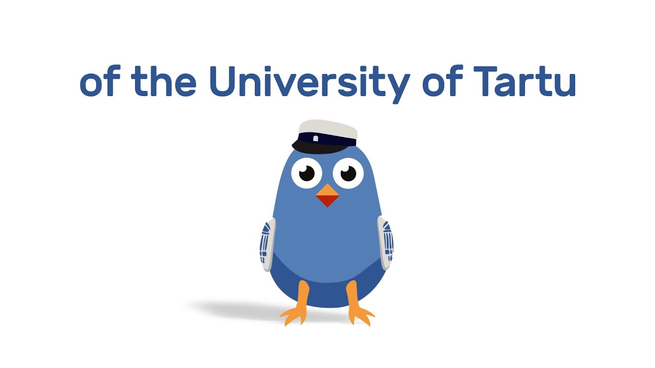 The mascot of the University of Tartu | Tiksu