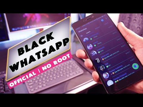 Trick to get Black WhatsApp on MIUI 8 | Best New Theme