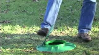 In-Ground Doggie Septic System from K9 Kennels