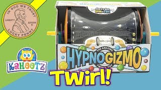 HypnoGizmo The Eye-Mazing Desktop Toy! Just Keep Spinning! Kids Toy Review
